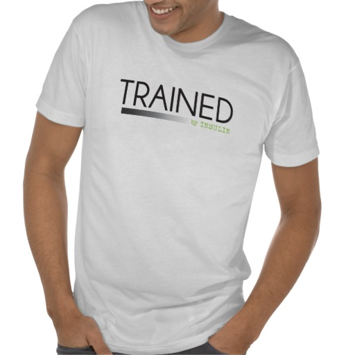 Trained by Insulin Apparel Support Diabetes Awareness