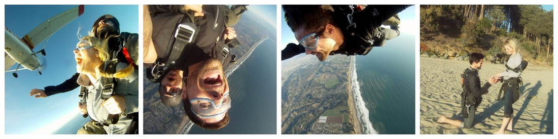Skydive Engagement...Trained by Insulin